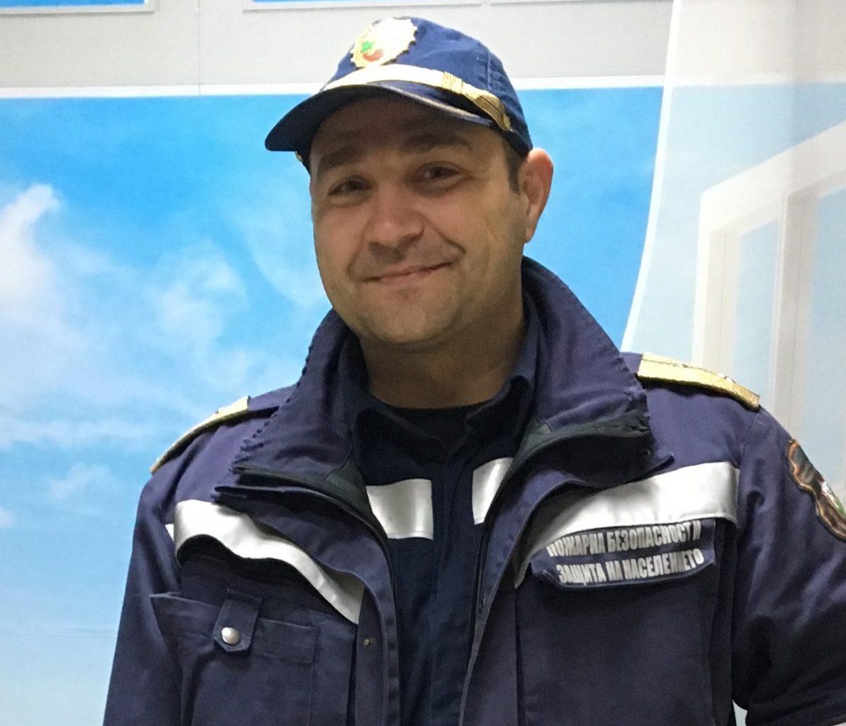 """Иво Пенков – инспектор """"Пожарна Безопасност"""""""