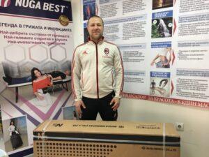 Владей стреса с Нуга Бест. Любомир Липчев, 29 години