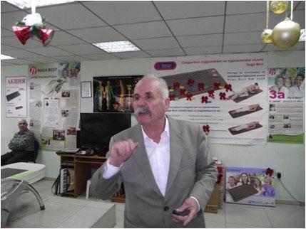 Йордан Барбов, пенсионер