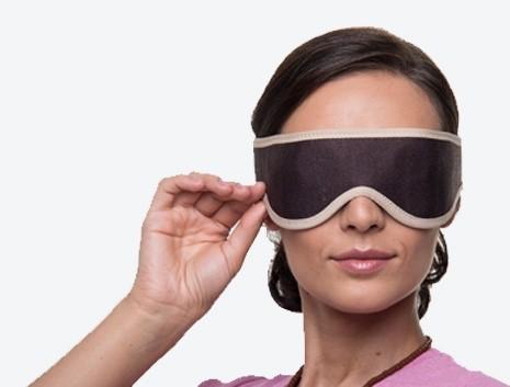 Релаксираща маска за очи с нанодиамантен турманий & сребърни нишки HC-1