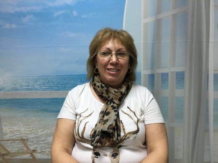 Много съм доволна! Много съм благодарна! Бояна Паскова, служител за продуктите на Нуга Бест. Снимка: Собствен архив