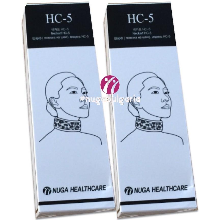 HC5 | Шал с нанодиамантен турманий и сребро
